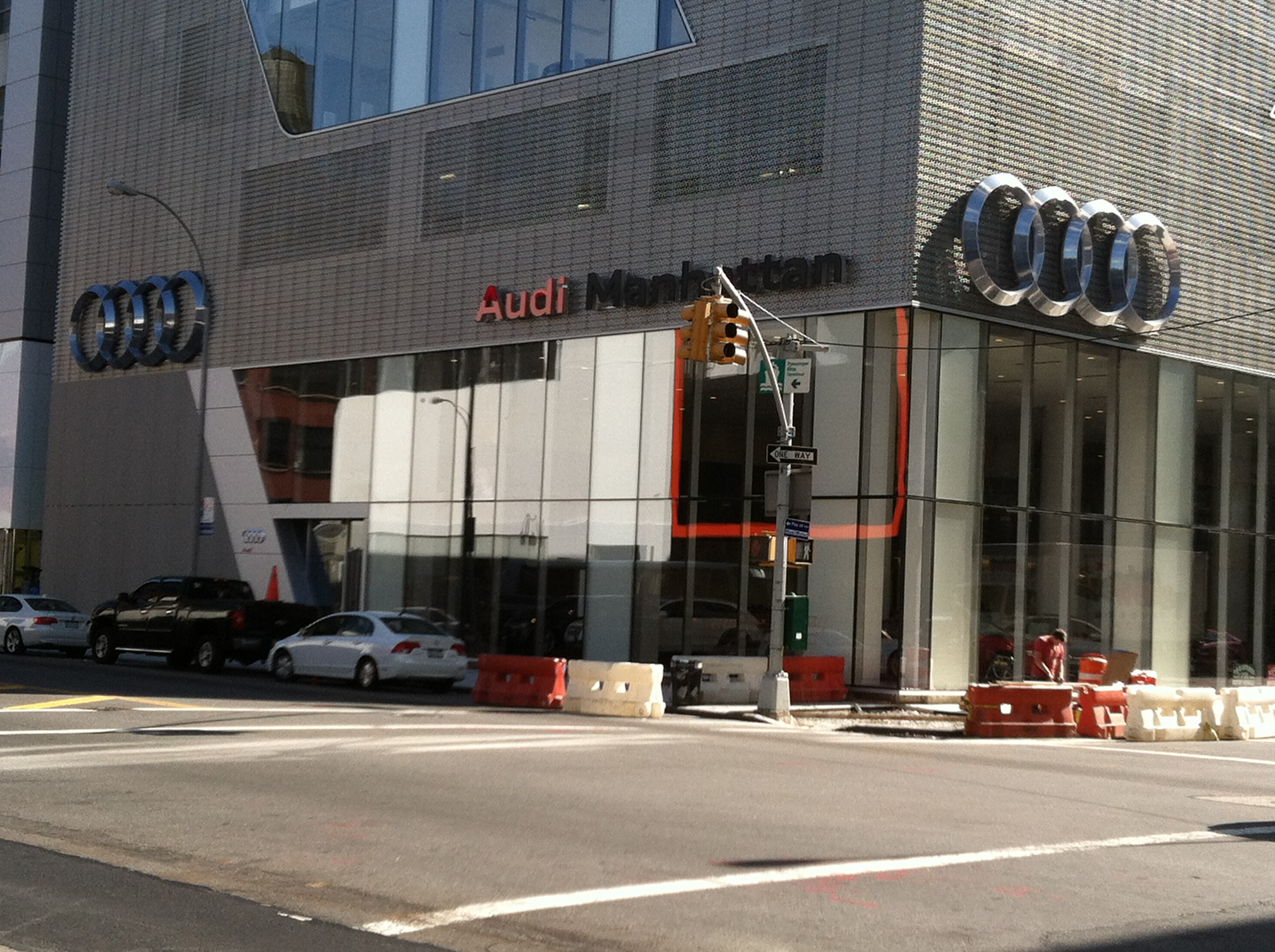 Audi Of Manhattan North Shore Neon - Audi north shore